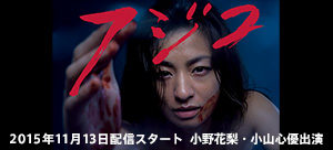 2015年11月13日配信スタート  小野花梨・小山心優出演